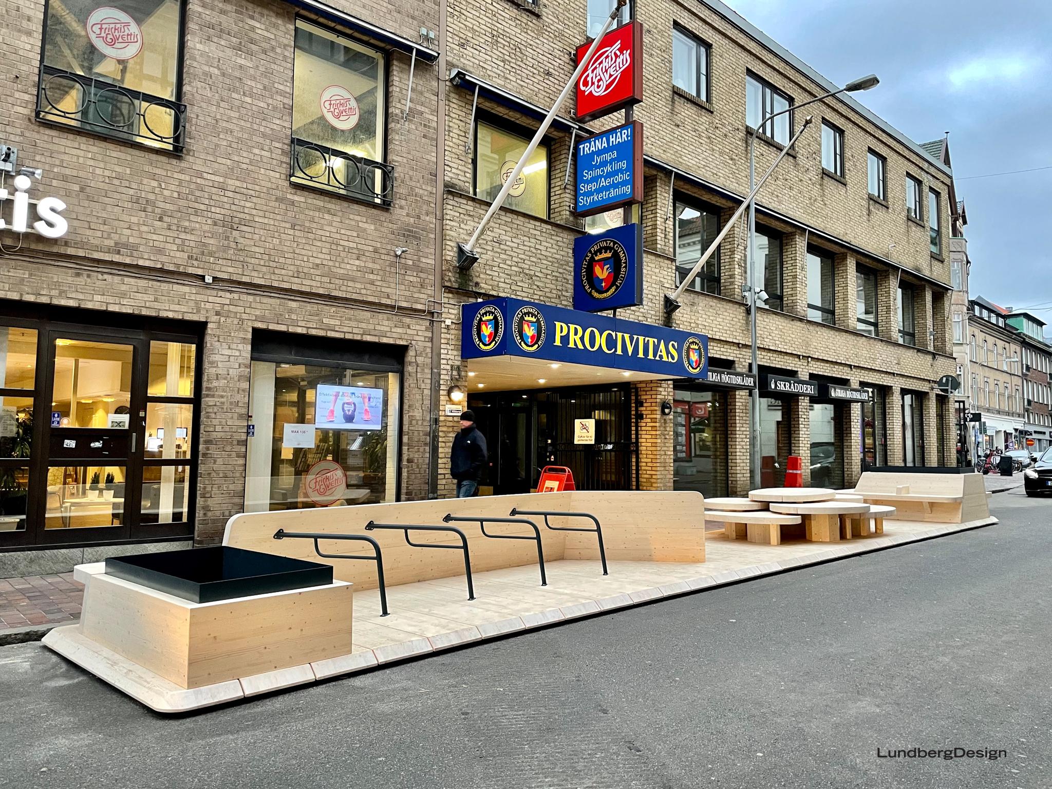 Street Moves - LundbergDesign - Parklet